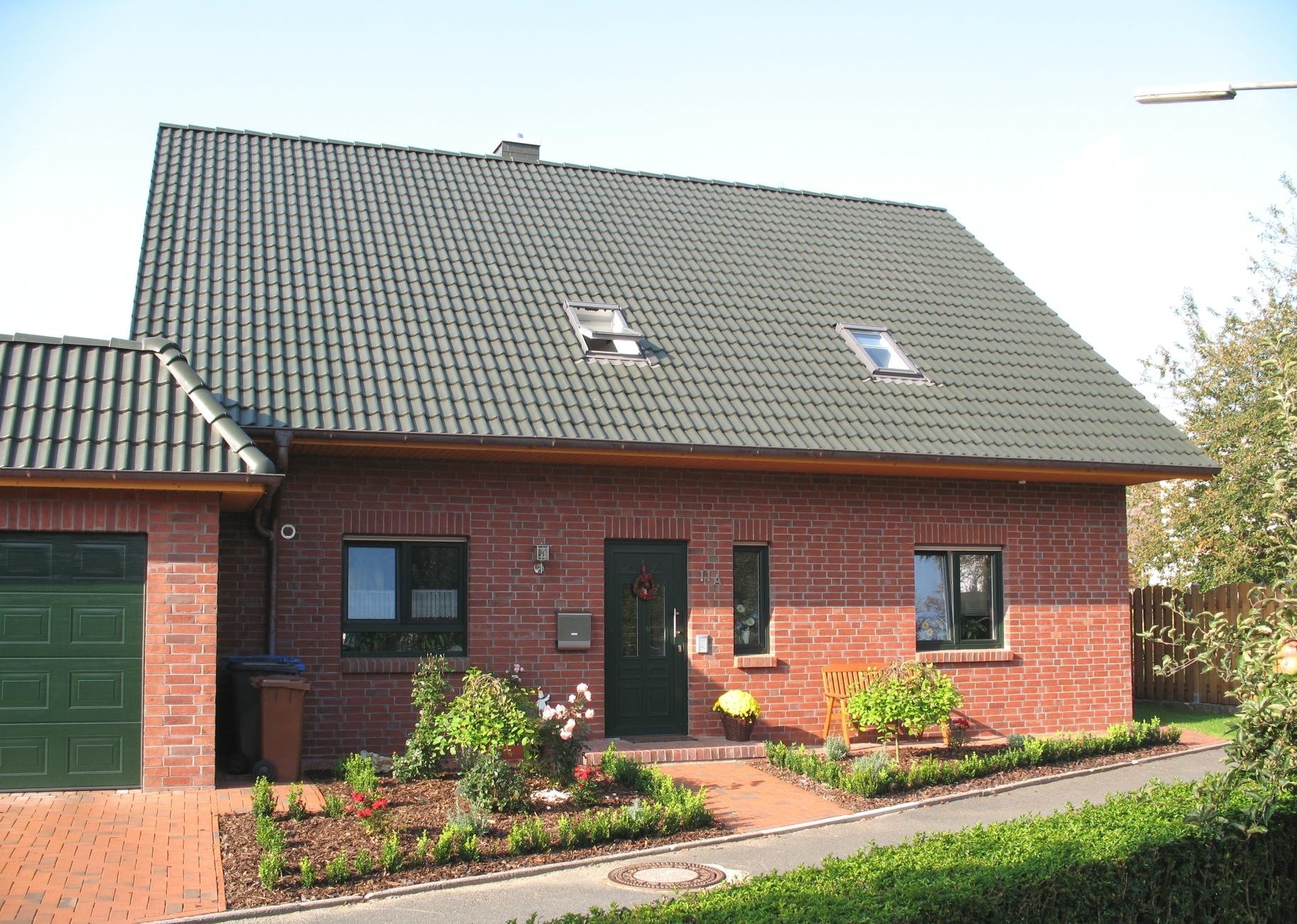 Home for Modernes backsteinhaus